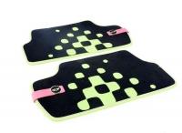 Текстильные коврики Vivid Green для MINI F56