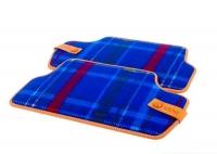Текстильные коврики Speedwell Blue для MINI F56, задние
