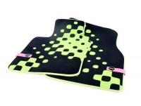 Текстильные коврики Vivid Green для MINI F55/F56/F57, передние