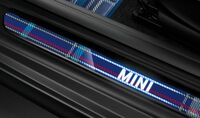Светодиодные молдинги порогов Speedwell Blue для MINI F56/F57