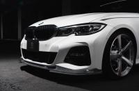 Карбоновый сплиттер 3DDesign для BMW G20 3-серия