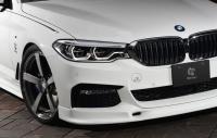 Накладка переднего бампера 3DDesign для BMW G30 5-серия