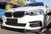 Карбоновая губа для BMW G30 M-tech 17+