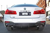Карбоновый задний диффузор BMW G30 M-tech 2017
