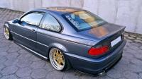 БОКОВЫЕ НАКЛАДКИ НА ЗАДНИЙ БАМПЕР BMW 3 E46 COUPE M-PACK