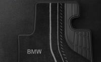 ножные коврики для BMW F20 1-серии Черный Велюр