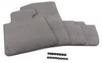 Комплект велюровых ножных ковриков для BMW X3 E83