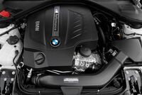 Кожух двигателя M Performance