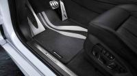 M Performance передние коврики для BMW X5 F15/X6 F16