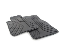 Резиновые ножные коврики для BMW F20 1-серии