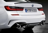 Карбоновый диффузор M Performance для BMW G20 3-серия