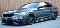 Боковые пороги Hamann для BMW G30 5-серии