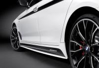 Накладки боковых порогов M Performance BMW G30 51192455950 51192455951