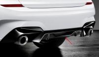 Задний диффузор M Performance для BMW G20 3-серия