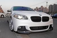 Карбоновая губа для бампера M-Tech BMW F10 F11