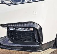 Карбоновые накладки бампера BMW G30 M-tech