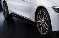 Накладки порогов M Performance для BMW F20 1-серии